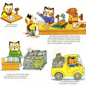 Richard Scarry al giorno d'oggi. Trova le differenze!